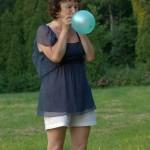 Antonina z balonem