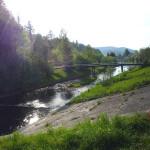 Rzeka i most