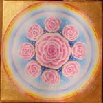 Obraz z 9 różami