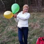 Zdjęcie Jadzi z balonikami