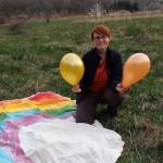 Zdjęcie Moniki z balonikami 2014